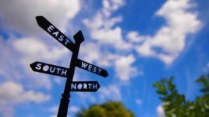 東雲・西雲・南雲・北雲、東風・西風・南風・北風、の読み方は?東からなのはなぜ?