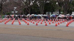 雨の日はどのくらい並ぶ?上野動物園の行列大変化!すぐ入場の裏技紹介!【3月16日】